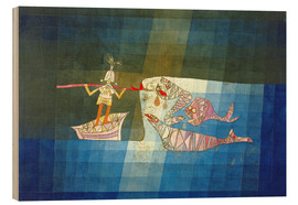 Obraz na drewnie  Sinbad the Sailor - Paul Klee