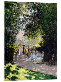 Obraz na szkle akrylowym  In the Park Monceau - Claude Monet