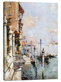 Obraz na płótnie  The Grand Canal, Venice - Franz Richard Unterberger