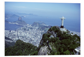 Obraz na PCV  Christ is enthroned over Rio - Sue Cunningham