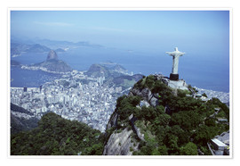 Plakat  Christ is enthroned over Rio - Sue Cunningham