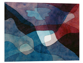 Obraz na PCV  Mountain and Air Synthetic - Paul Klee