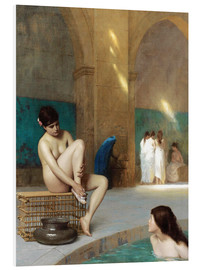 Obraz na PCV  Women at the Roman baths - Jean Leon Gerome