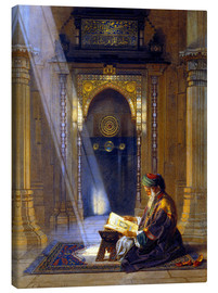 Obraz na płótnie  In the Mosque - Carl Friedrich Heinrich Werner