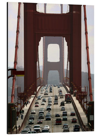 Obraz na aluminium  Golden Gate Bridge - Marcel Schauer