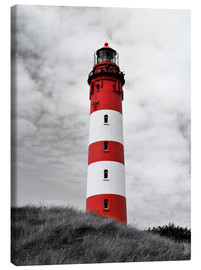 Obraz na płótnie  Lighthouse in Amrum, Germany - HADYPHOTO