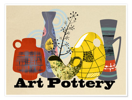 Plakat Art Pottery