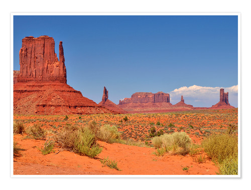 Plakat Monument Valley I