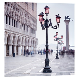 Obraz na szkle akrylowym  St. Mark's Square in Venice in Winter - Jan Christopher Becke