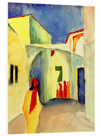 Obraz na PCV  Alley in Tunis - August Macke
