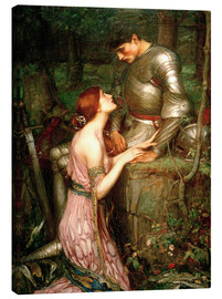 Obraz na płótnie  Lamia - John William Waterhouse