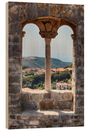 Obraz na drewnie  A view through the window in Tuscany, Italy - Filtergrafia