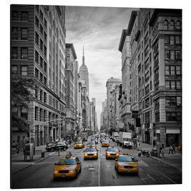 Obraz na aluminium  NEW YORK CITY 5th Avenue Traffic - Melanie Viola