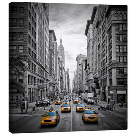 Obraz na płótnie  NEW YORK CITY 5th Avenue Traffic - Melanie Viola