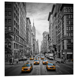 Obraz na PCV  NEW YORK CITY 5th Avenue Traffic - Melanie Viola