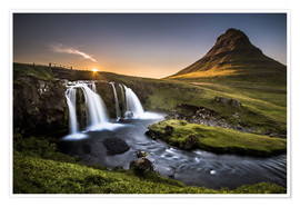 Plakat  Fair Tyle Countryside in Iceland - Andreas Wonisch