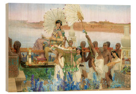 Obraz na drewnie  The Finding of Moses by Pharaoh's Daughter - Lawrence Alma-Tadema