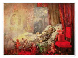 Plakat  The Stuff that Dreams are Made Of - John Anster Fitzgerald