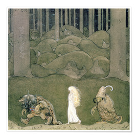 Plakat The Princess and the Trolls, 1913