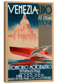 Obraz na płótnie  Venezia Lido 1930 - Travel Collection