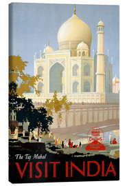Obraz na płótnie  Indien - Taj Mahal - Travel Collection