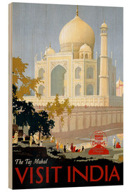 Obraz na drewnie  Indien - Taj Mahal - Travel Collection