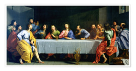 Plakat The Last Supper, called 'The Little Last Supper'
