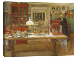 Obraz na płótnie  Getting Ready for a Game - Carl Larsson
