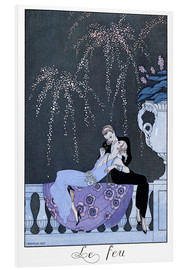 Obraz na PCV  The Fire - Georges Barbier