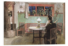 Obraz na PCV  When the Children have Gone to Bed - Carl Larsson