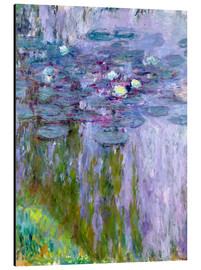 Obraz na aluminium  Waterlilies - Claude Monet