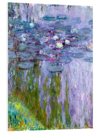 Obraz na PCV  Waterlilies - Claude Monet