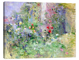 Obraz na płótnie  The Garden at Bougival - Berthe Morisot