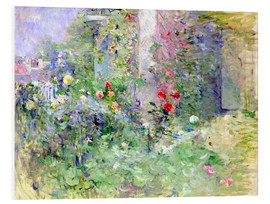 Obraz na PCV  The Garden at Bougival - Berthe Morisot