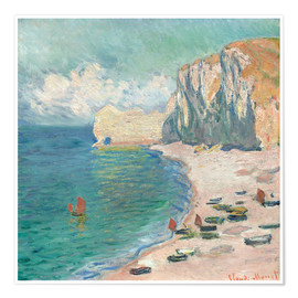 Plakat Cliff at Etretat