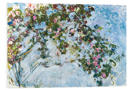 Obraz na PCV  The roses - Claude Monet