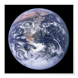 Plakat  Earth view from Apollo 17 moon mission