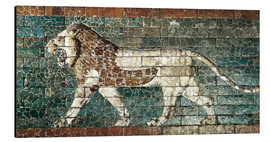 Obraz na aluminium  Lion mosaic at the temple of Babylon