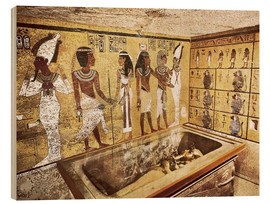 Obraz na drewnie  Grave of Tutankhamun in the Valley of the Kings