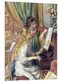 Obraz na PCV  Two girls at the piano - Pierre-Auguste Renoir