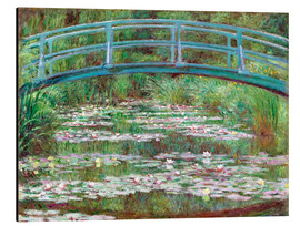 Obraz na aluminium  Waterlily pond - Claude Monet