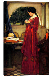 Obraz na płótnie  The crystal ball - John William Waterhouse