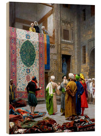 Obraz na drewnie  Carpet dealer - Jean Leon Gerome