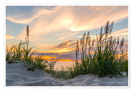 Plakat  Beach of the Baltic Sea at Sunset - Markus Ulrich