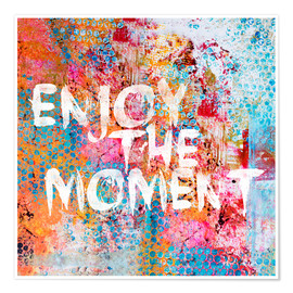 Plakat  Enjoy the moment II - Andrea Haase