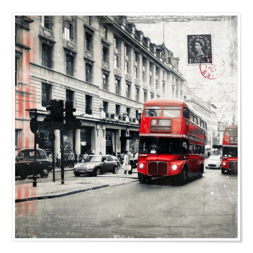 Plakat Postcard From London | 03