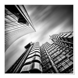 Plakat Lloyds London | 01 (black/white)
