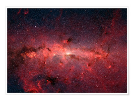 Plakat  The center of the Milky Way