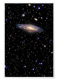 Plakat Spiral galaxy in the constellation Pegasus
