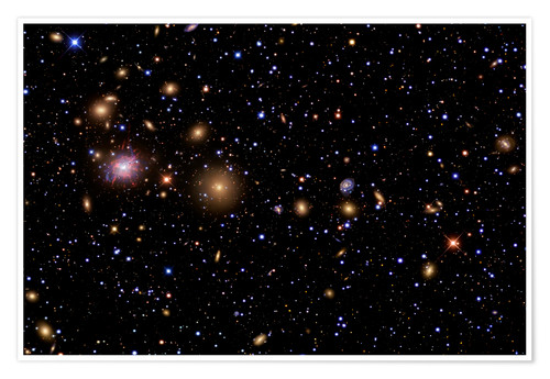 Plakat The Perseus Galaxy Cluster